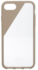 Native Union Clic Crystal iPhone 7 hoesje Taupe