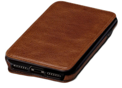 Sena WalletBook iPhone 7 hoesje Brown