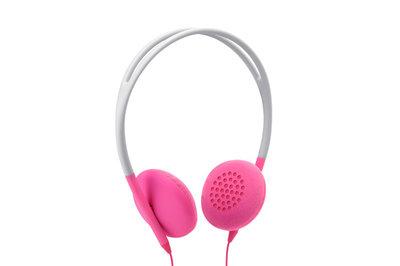 Incase Pivot Headphones Stone/Pop Pink