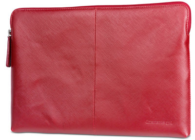 dbramante1928 Paris Leather 13 inch 2016 sleeve Rood