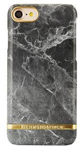 Richmond Finch Marble Glossy iPhone 7 hoesje Grey