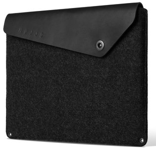 Mujjo Originals Pro 13 inch sleeve Zwart