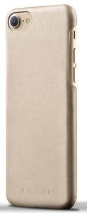 Mujjo Leather case iPhone 7 hoesje Champagne