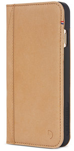 Decoded Leather Wallet iPhone 8/7 hoesje Sahara
