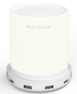MacAlly Lampcharge LED Lamp met USB Lader Wit