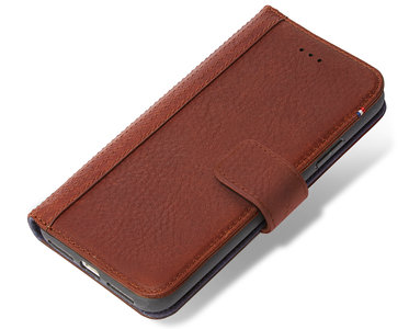 lowest price e9231 e8b43 Decoded Leather Wallet iPhone X hoesje Bruin
