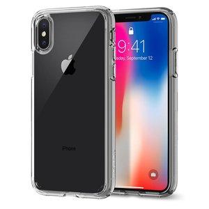 Spigen Ultra Hybrid iPhone X hoesje Doorzichtig