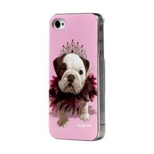 Teo Jasmin case iPhone 4/4S Queen Bulldog 1