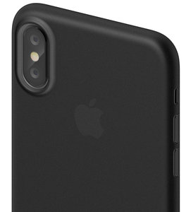 SwitchEasy Slim iPhone X hoesje Zwart