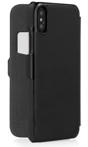 Pipetto Slim Wallet iPhone X hoesje Zwart