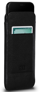 Sena Ultraslim Wallet iPhone X hoesje Zwart