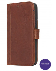 Decoded Leather Impact Wallet iPhone X hoesje Bruin