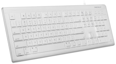 MacAlly MKEYE2 USB toetsenbord Wit