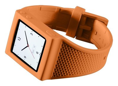 HEX horlogeband iPod nano 6G Orange