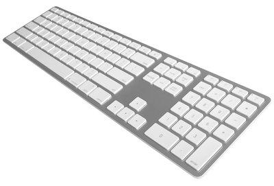 Matias Wireless Aluminium Keyboard toetsenbord Silver