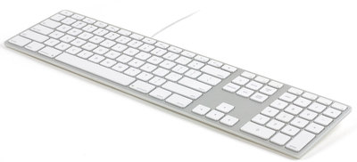 Matias Aluminium Wired Keyboard Qwerty US toetsenbord Zilver