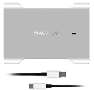 MacAlly Magnetic Charger oplader 61 watt Aluminium