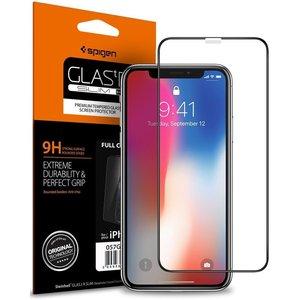 Spigen Full Cover iPhone X Glass screenprotector