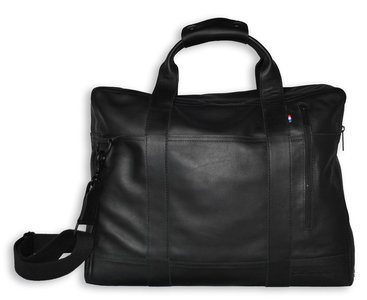 Decoded Leather Bag 15 inch Black