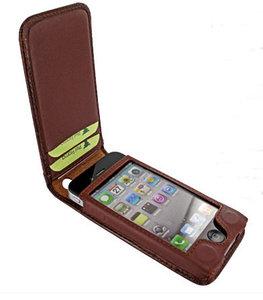Piel Frama Magnetic iPhone 4/4S Croco Brown