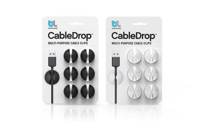 BlueLounge CableDrop Black & White