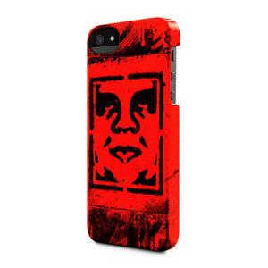 Incase Snap case iPhone 5/5S Shepard Fairey Stencil Red