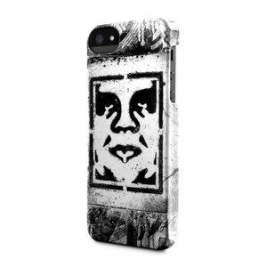 Incase Snap case iPhone 5/5S Shepard Fairey Stencil White