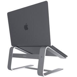MacAlly Aluminium laptop stand Space Grijs