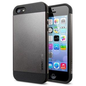 Spigen SGP Slim Armor case iPhone 5 Gunmetal