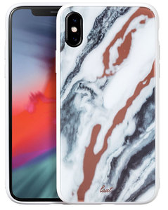 LAUT Mineral Glass iPhone Xs Max hoesje Wit