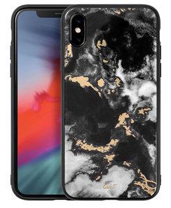LAUT Mineral Glass iPhone Xs Max hoesje Zwart