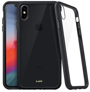 LAUT Accents Glass iPhone Xs Max hoesje Zwart