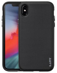 LAUT Shield iPhone Xs Max hoesje Zwart
