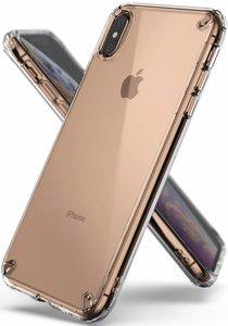 Ringke Fusion iPhone Xs Max hoesje Doorzichtig