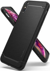 Ringke Onyx iPhone Xs Max hoesje Zwart