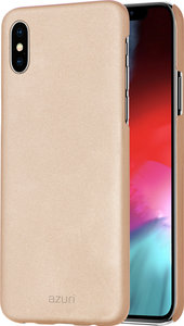 Azuri Metallic iPhone XS Max hoesje Goud