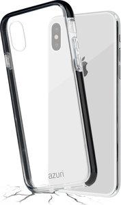 Azuri Bumper iPhone XS Max hoesje Zwart