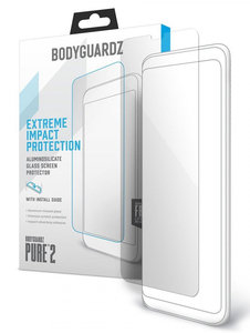 BodyGuardz Pure 2 Glass iPhone XS Max screenprotector