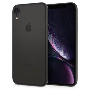 Spigen Air Skin iPhone Xr hoesje Zwart
