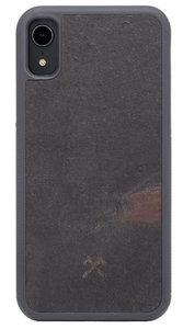 Woodcessories EcoCase Stone iPhone XR hoesje Zwart