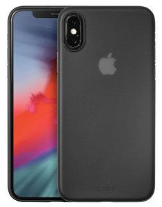 LAUT SlimSkin iPhone XS hoesje Zwart