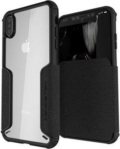 Ghostek Exec 3 iPhone XS Max hoesje Zwart