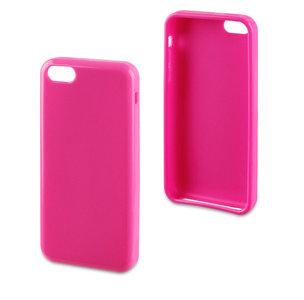 Muvit Minigel case iPhone 5C Glossy Pink