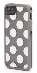 Griffin Separates case iPhone 5/5S Dots Grey