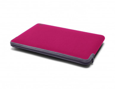 C6 Zip sleeve MacBook Air 11 inch Raspberry