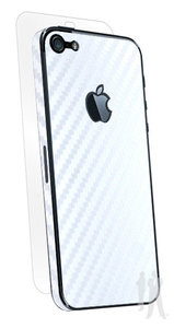 BodyGuardz Armor Carbon iPhone 5S  White