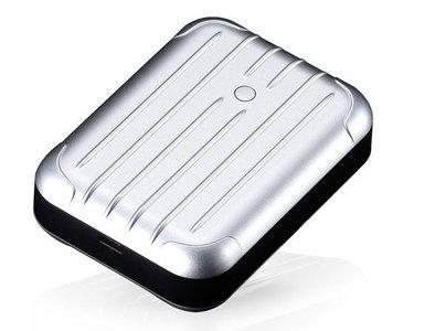 Just Mobile Gum Plus 6000 mAh Silver
