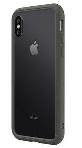 RhinoShield CrashGuard NX iPhone XS bumper hoesje Grijs
