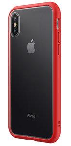 RhinoShield CrashGuard NX iPhone XS Max bumper hoesje Rood