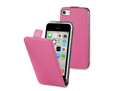 Muvit Slim Flipcase iPhone 5C Pink